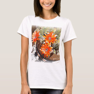 Rope Cactus Blooms T-Shirt