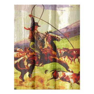 Rope 'em cowboy letterhead
