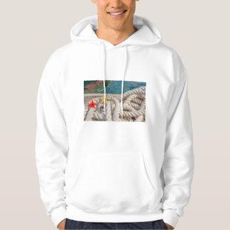 rope for moorning Men's Basic Hooded Sweatshirt