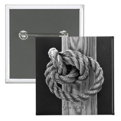 Rope Knot Button