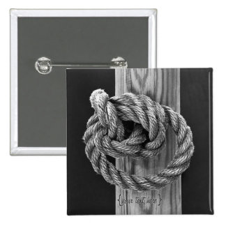 Rope Knot Pinback Button