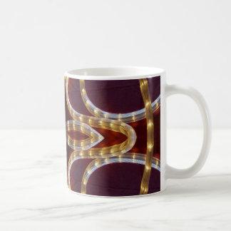 Rope Lights Stage Coach Coffee Mug