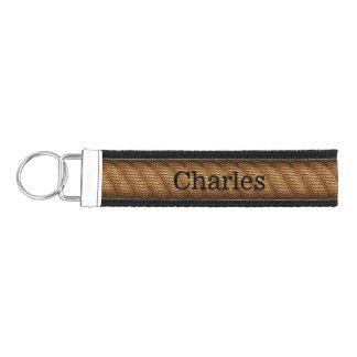 Rope Look Personalized Wrist Key Chain Wrist Keychain
