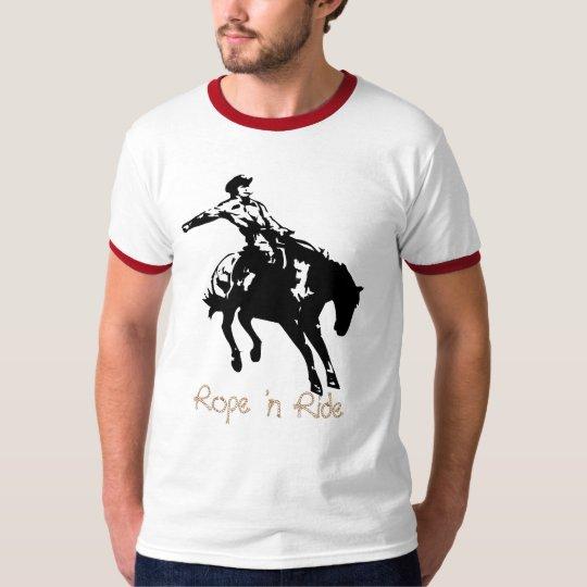 Rope 'n Ride Cowboy Tee