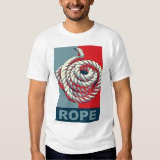 "Rope - Obama ""Hope"" spoof tee"