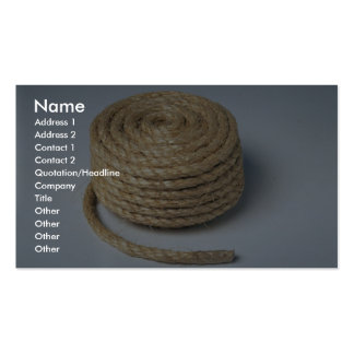 Rope Photo Business Card