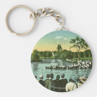 Rope Pull, Campus Pond Keychain