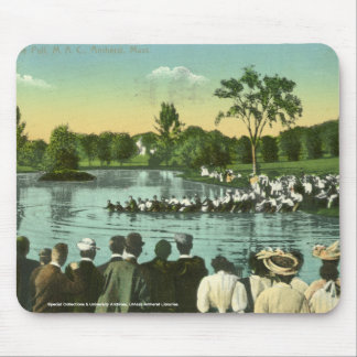 Rope Pull, Campus Pond Mouse Pad