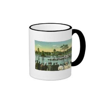 Rope Pull, Campus Pond Ringer Coffee Mug