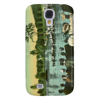 Rope Pull, Campus Pond Samsung Galaxy S4 Case
