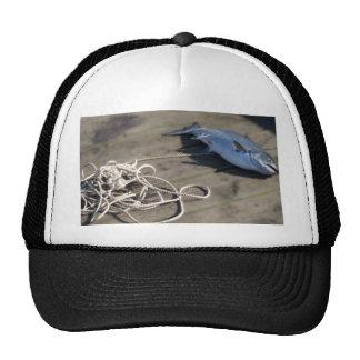 Rope retrieved heavy fish hats