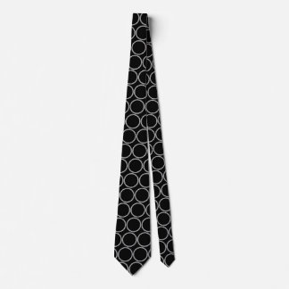 Rope Rings Double Sided Neck Tie