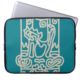 < Rope sentence (beige) >The JOHMON art (beige) Laptop Sleeve