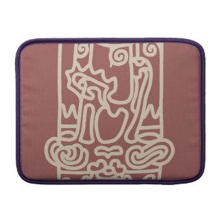 < Rope sentence (beige) >The JOHMON art (beige) MacBook Air Sleeves