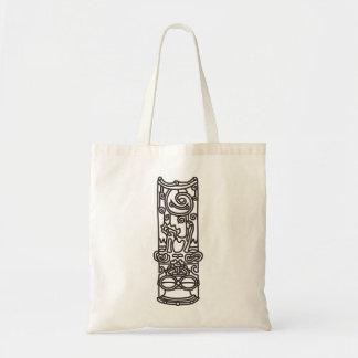 < Rope sentence (brown) >The JOHMON art (brown) Tote Bag