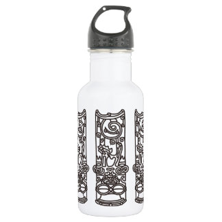 < Rope sentence (brown) >The JOHMON art (brown) Water Bottle