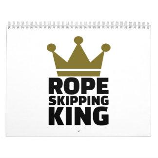 Rope skipping king calendar
