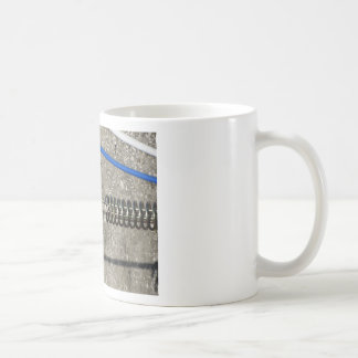Rope sling with safety anchor shackle coffee mug