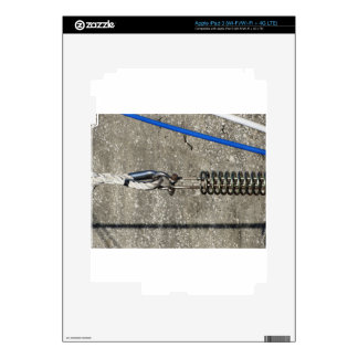 Rope sling with safety anchor shackle decals for iPad 3
