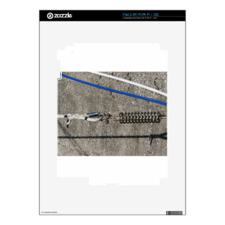 Rope sling with safety anchor shackle iPad 2 decals