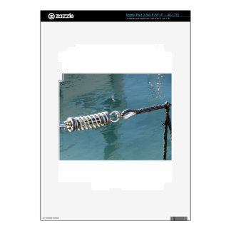 Rope sling with safety anchor shackle iPad 3 decal