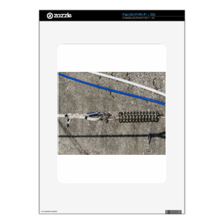 Rope sling with safety anchor shackle iPad skin