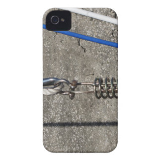Rope sling with safety anchor shackle iPhone 4 Case-Mate case