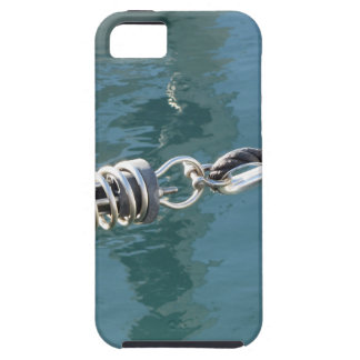 Rope sling with safety anchor shackle iPhone SE/5/5s case