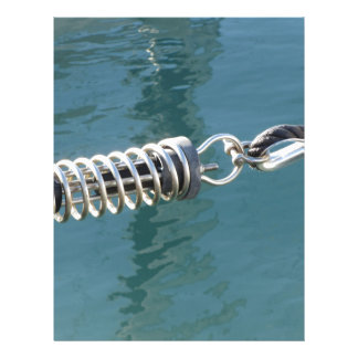 Rope sling with safety anchor shackle letterhead