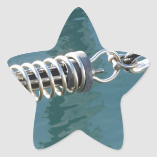 Rope sling with safety anchor shackle star sticker
