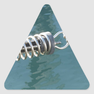 Rope sling with safety anchor shackle triangle sticker