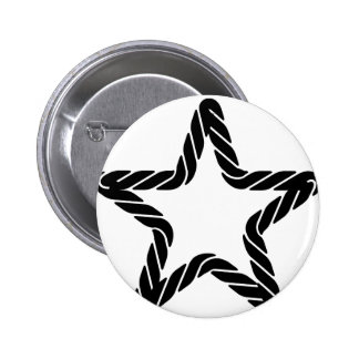 Rope Star Icon Pinback Button