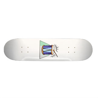Rope Tension Drum Graphic image design Skateboard Deck