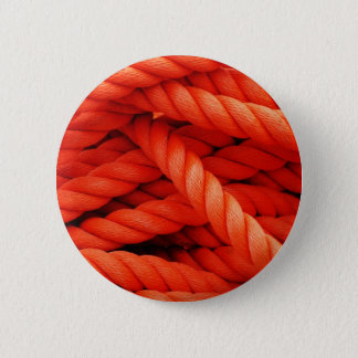 rope Wires Circles Abstract Art Effect Glossy Wall Button