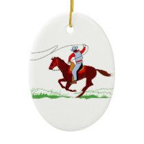 Roper Ceramic Ornament