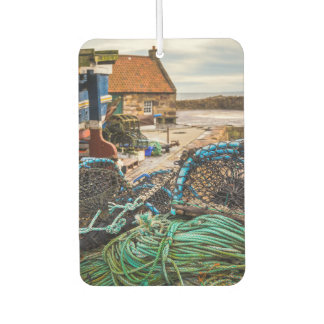 Ropes And Lobster Pots | Pittenweem, Scotland Car Air Freshener