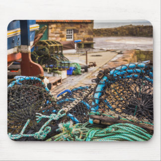 Ropes And Lobster Pots | Pittenweem, Scotland Mouse Pad