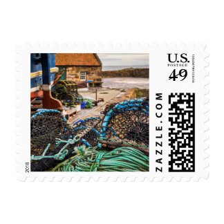 Ropes And Lobster Pots | Pittenweem, Scotland Postage