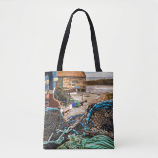 Ropes And Lobster Pots | Pittenweem, Scotland Tote Bag