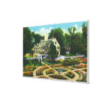 Ropes Memorial and Botanical Gardens View # 1 Stretched Canvas Print