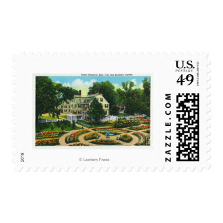 Ropes Memorial and Botanical Gardens View # 1 Postage