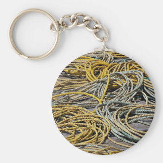 Ropes texture key chain