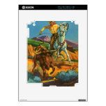 Roping a Steer Decal For iPad 2