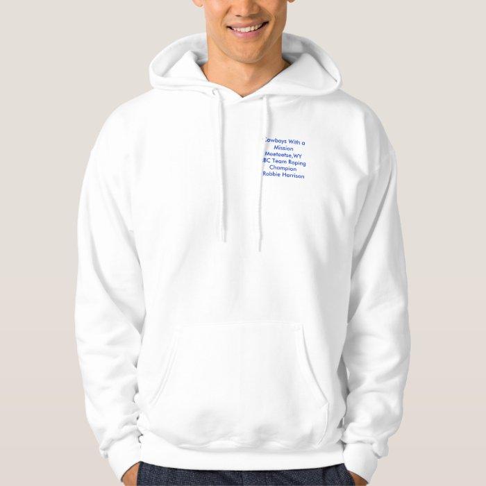 roping hoodie
