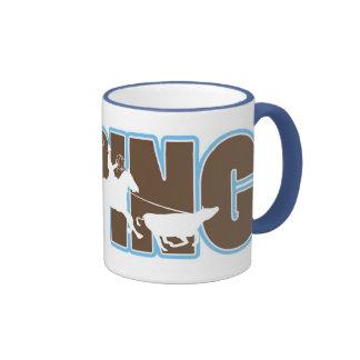 roping ringer coffee mug