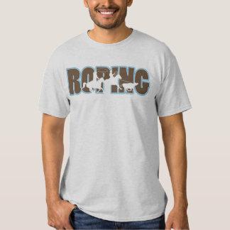 roping tee shirt