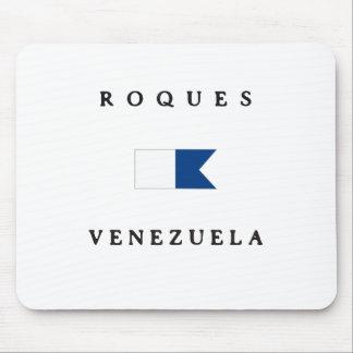 Roques Venezuela Alpha Dive Flag Mousepads