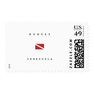 Roques Venezuela Scuba Dive Flag Postage