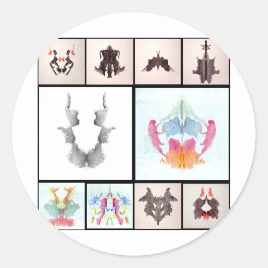 Ror All Coll Nine Classic Round Sticker
