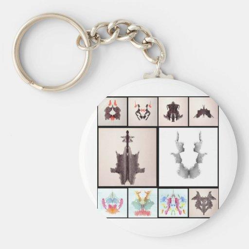 Ror All Coll Ten Basic Round Button Keychain